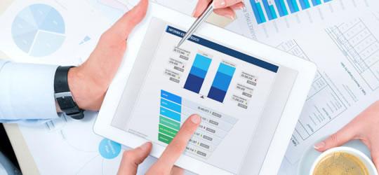 Imagen de informe estratégico de empresa