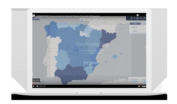 La solución Geomarketing inAtlas Informa